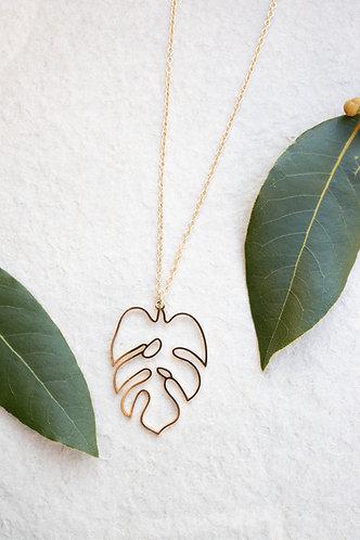 Open gold leaf