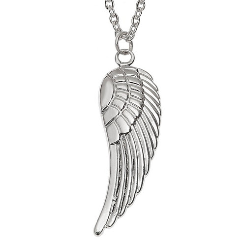 Silver Angel wing Necklace