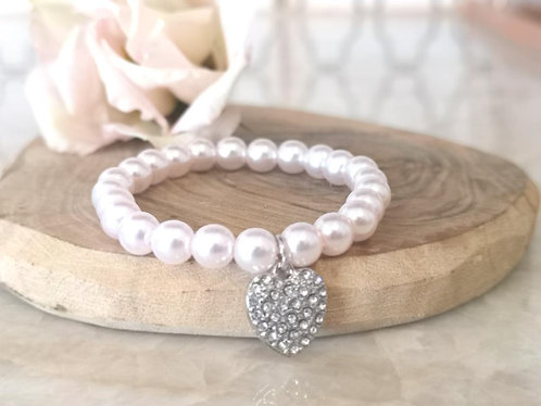 Children's pearl bracelet