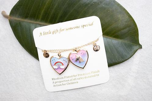 Best friend locket necklace NC03