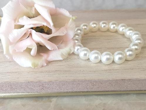 Girls pearl bracelet