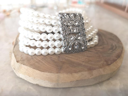 1920s pearl bracelet BD10