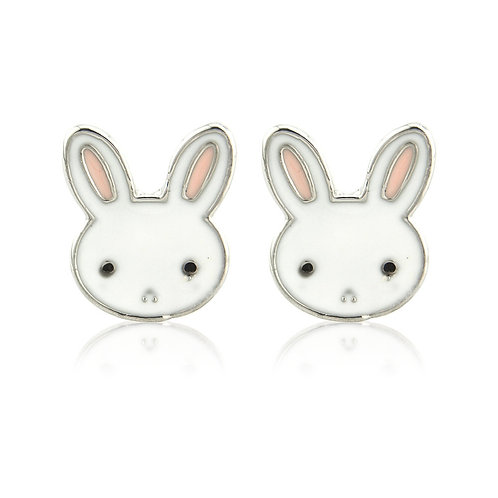 Rabbit Stud earrings EL42