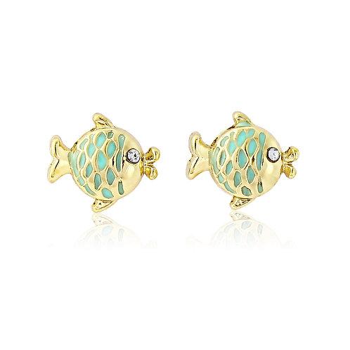 Kissing Fish earrings