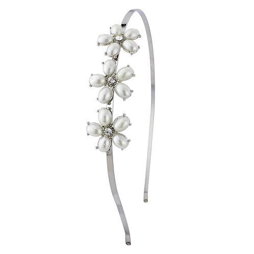 Pearl Flower Hair band