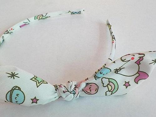 Girls Rainbow and Unicorn hairband