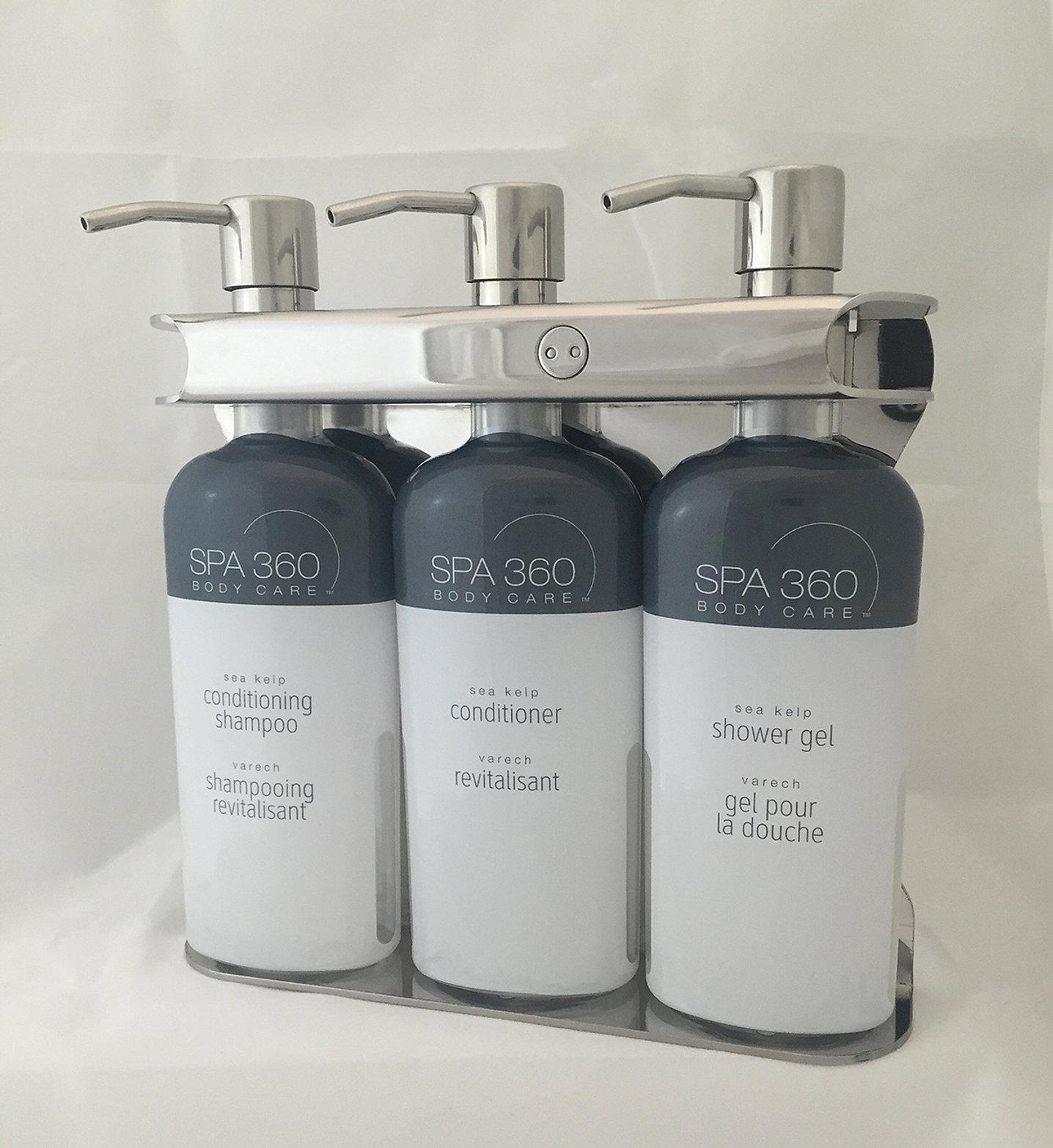 Aquamenities Sophisticated Soap Shampoo Dispenser Dispenser