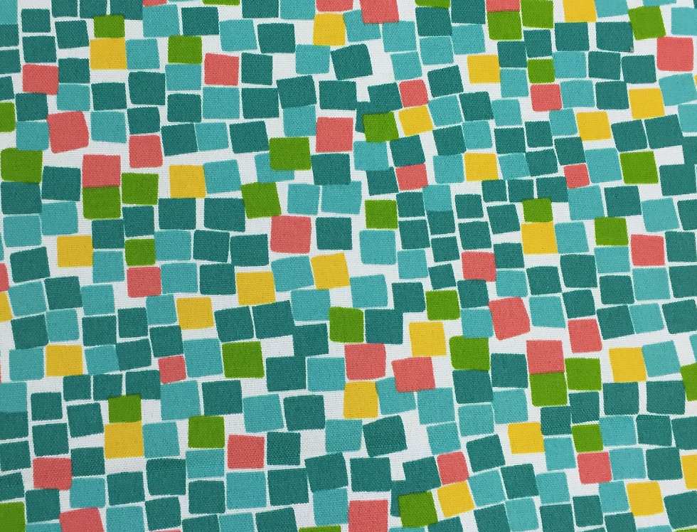 Sea Glass - Mosaic - Geometric Squares