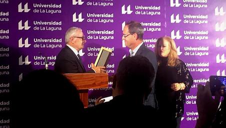 Juan Jesús Méndez, Enogastroturismo Prize of the University of La Laguna 2019