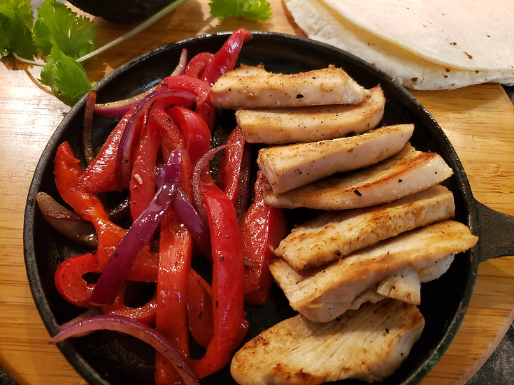 No Spice Fajita Strips - Food Service