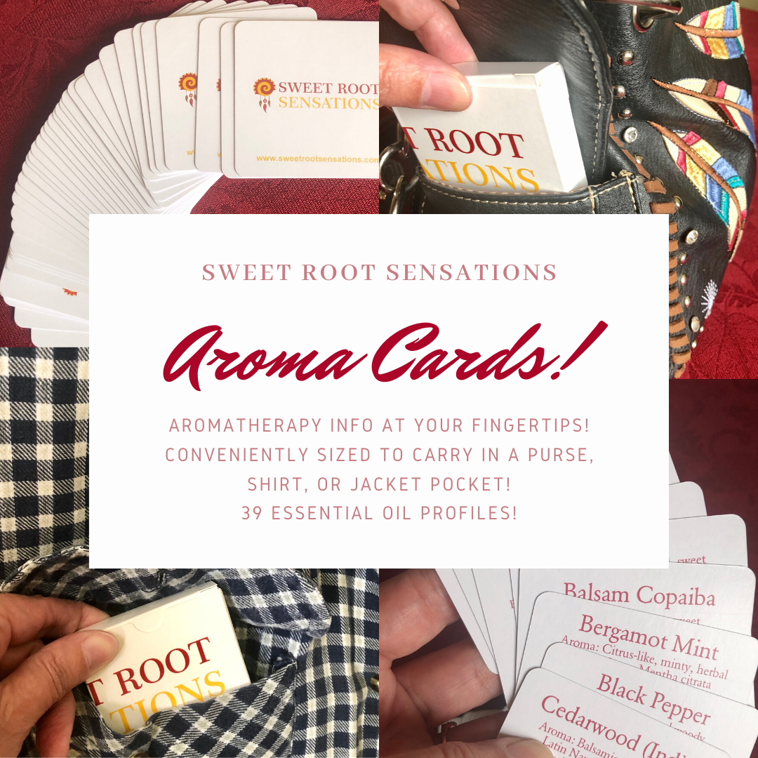 Aroma Cards Advertisement