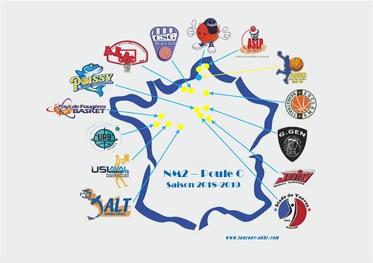 Carte de France NM2 Poule C .png