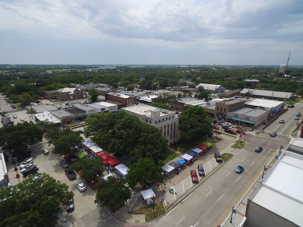 Downtown Rockwall, Farmer's Market, Spot On Images