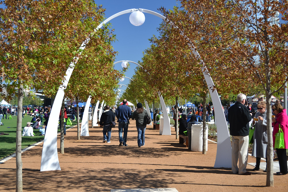Klyde Warren Park in Downtown Dallas, Spot On Images