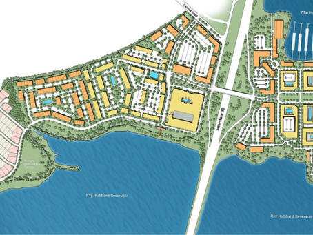 New Development to Transform Lake Ray Hubbard Area