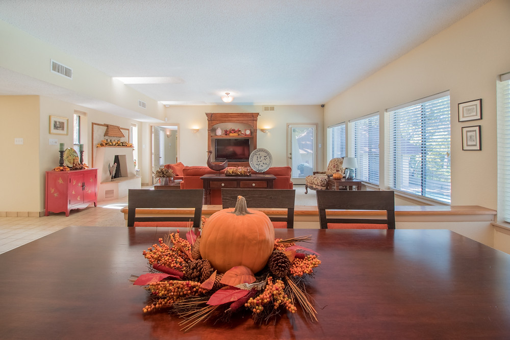 Spot On Images, Fall Decor, Living Area, Home for Sale, Terrell TX