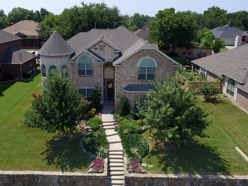 Spot On Images, Home Exterior, Aerial Image of Home, Drone Shot,