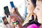 Several Girls texting.jpg