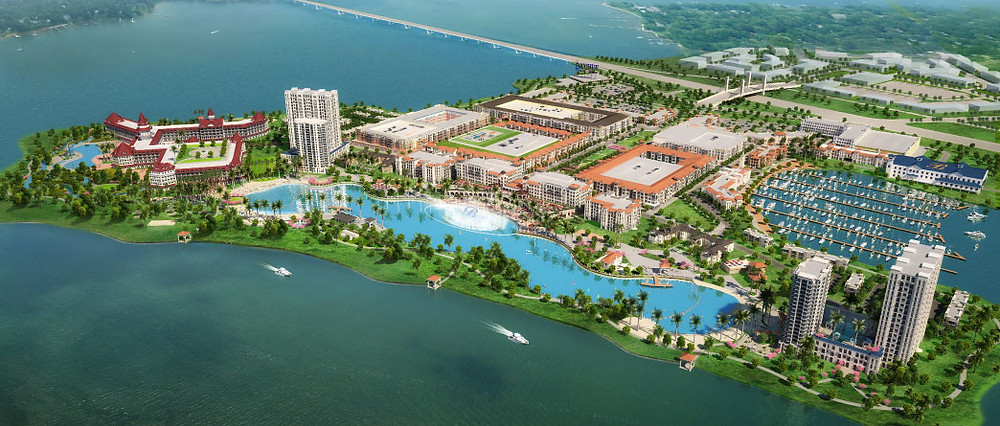 Bayside Development Bird's Eye View