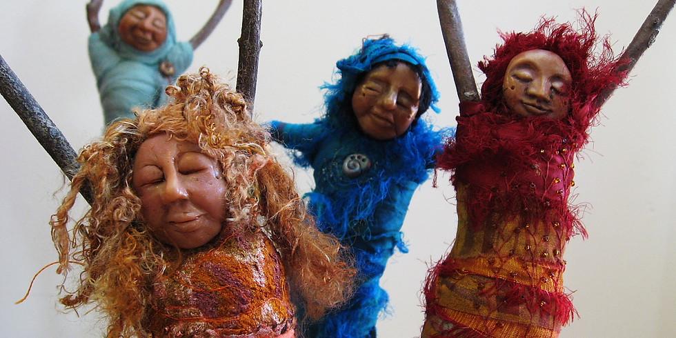 Tree Mother Sculpture Art Class