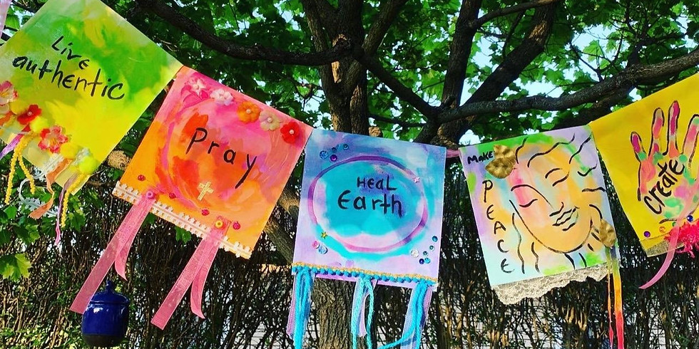 Painted Prayer Flags