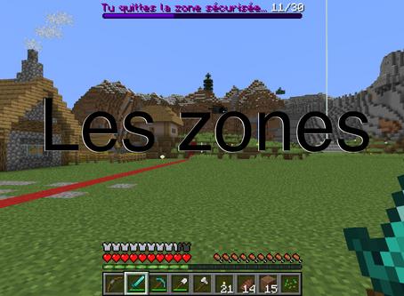 Les zones