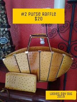 Purse Raffle #2