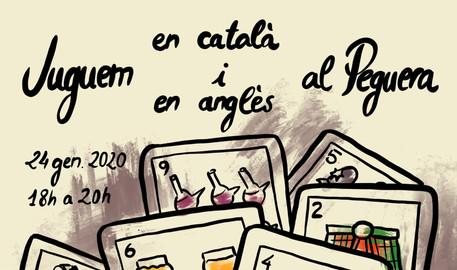 Juguem en català i en anglès al Peguera / jan 2020