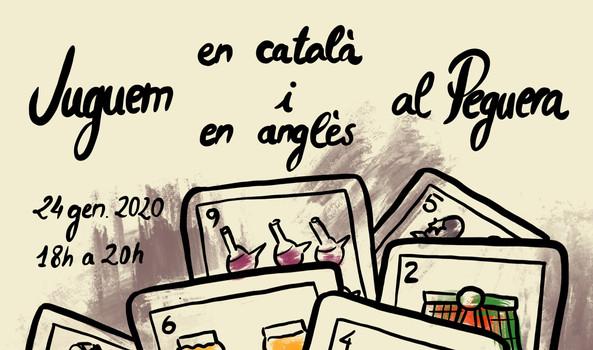 Juguem en català i en anglès al Peguera / 24 jan 2020