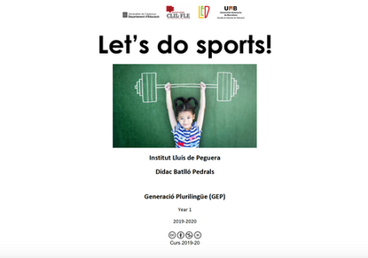 Unit: Let's do sports! / feb to mar 2020