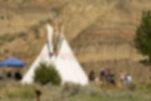 Tepee Camping
