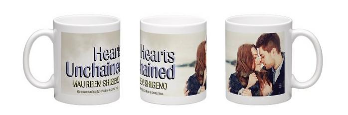 Hearts Unchained mug design