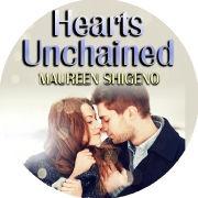 Hearts Unchained fidget spinner & sticker design