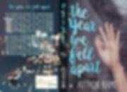 'Falling' pre-made book cover