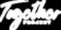 Together Project Logo - White - Transpar