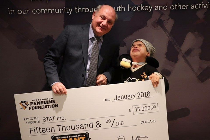 A Grant from the Pittsburgh Penguins Foundation Launches The Final Construction Phase of the Ligonie