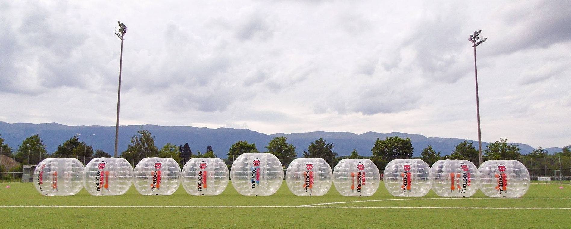 Les Bubble de SwissFootBull à Genève vous attendent !