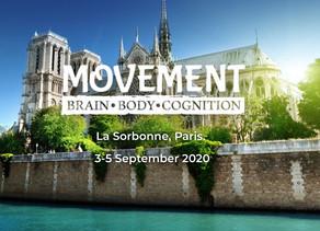 Presentation at the conference Movement: Brain, Body, Cognition at La Sorbonne in Paris