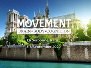 Presentation at the conference Movement: Brain, Body, Cognition at La Sorbonne in Paris