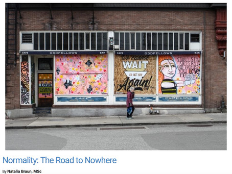 Normality: The Road to Nowhere. Publication on Psych Central