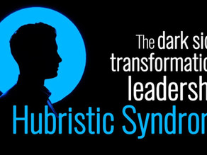 Hubris syndrome, a dark side of a charismatic leader