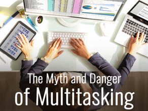Publication in The Minds Journal: The Myth and Danger of Multitasking