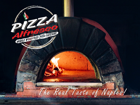 Our gorgeous pizza oven!
