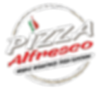Pizza Alfresco Logo Black - NO BACKGROUN