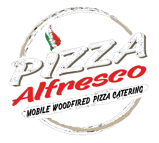 Pizza Alfresco Logo Black - NO BACKGROUN