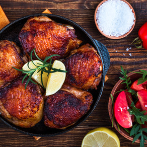GINGER CHICKEN (SERVES 4)