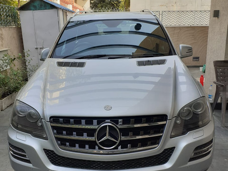 Mercedes Benz ML 350CDI, from Delhi: An economical offer for other states customers