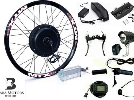किसी भी साइकिल को इलेक्ट्रिक साइकिल में केवल 10 मिनट में बदलें - Convert any bicycle in ebicycle