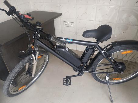 """Baba Motors - Electric Bike: """"SUN-E Basic"""""""