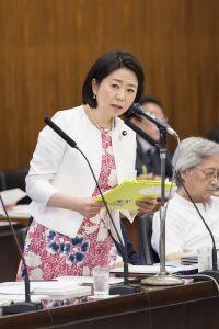6月7日参議院厚生労働委員会で質問させていただきました。